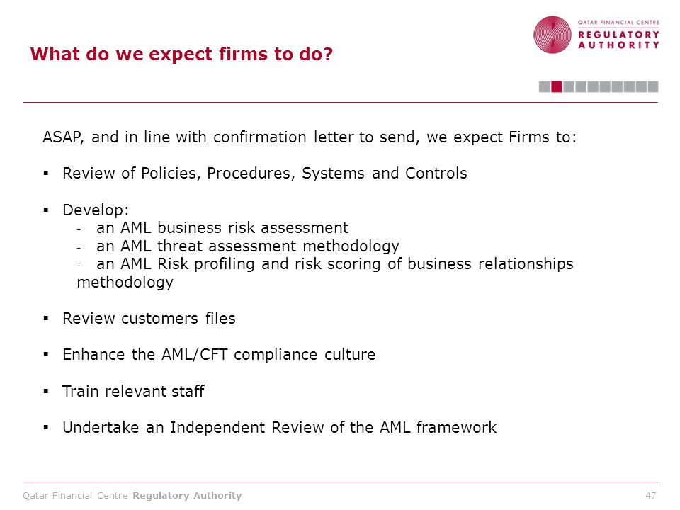 What do we expect firms to do