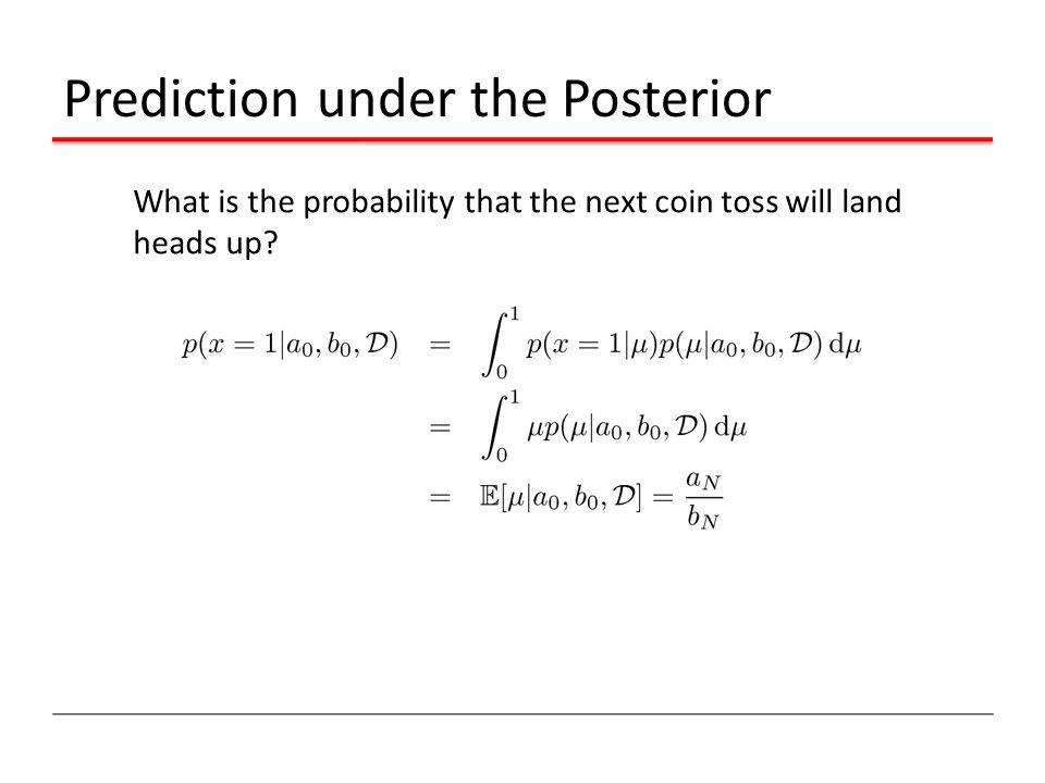Prediction under the Posterior