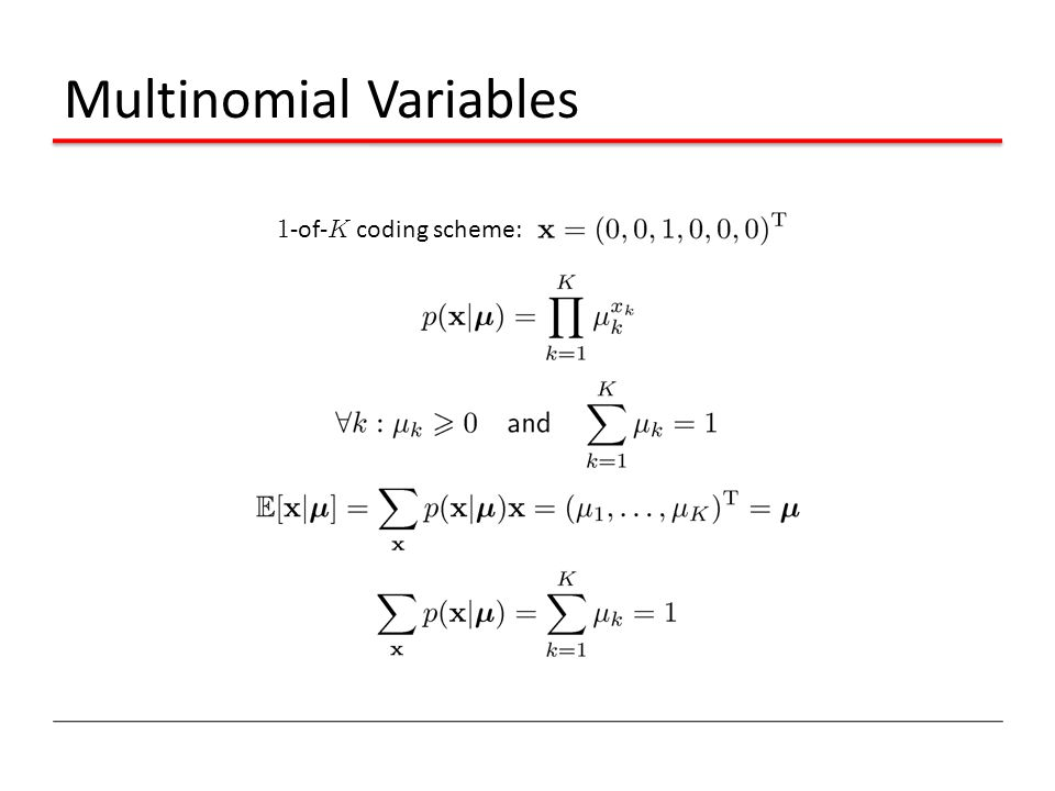 Multinomial Variables