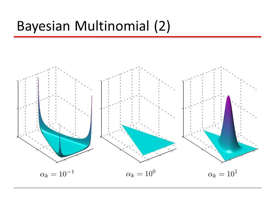 Bayesian Multinomial (2)