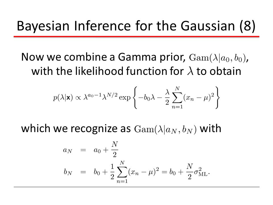 Bayesian Inference for the Gaussian (8)
