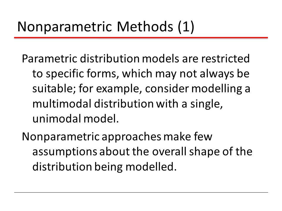 Nonparametric Methods (1)