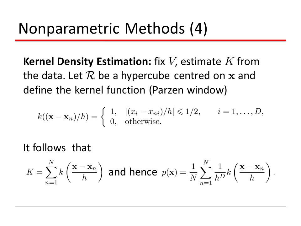 Nonparametric Methods (4)