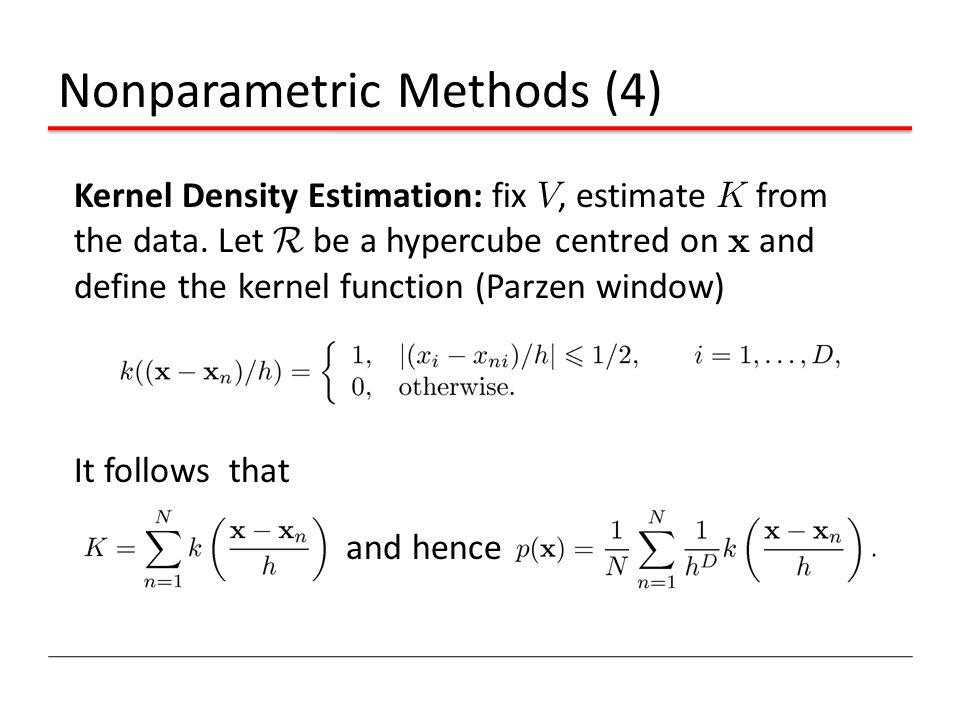 Nonparametric Methods (4)