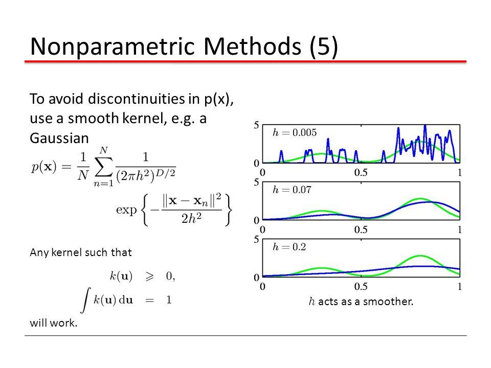 Nonparametric Methods (5)