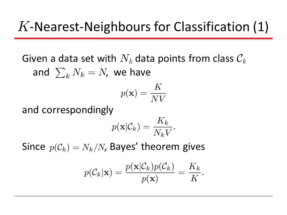 K-Nearest-Neighbours for Classification (1)