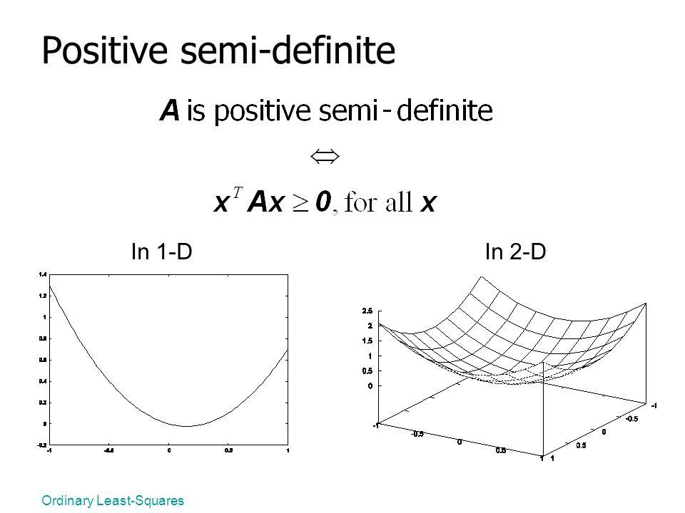 Positive semi-definite