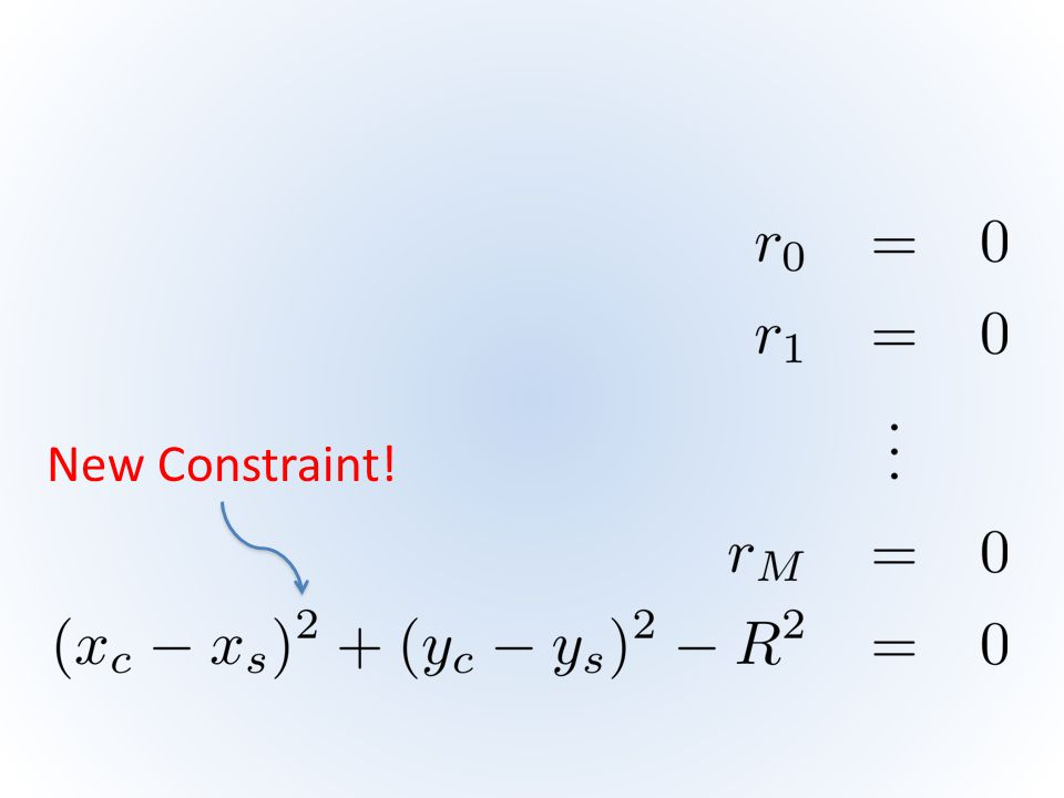 New Constraint!