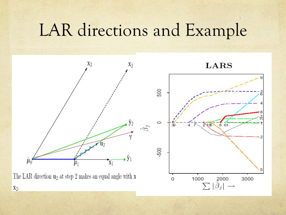 LAR directions and Example