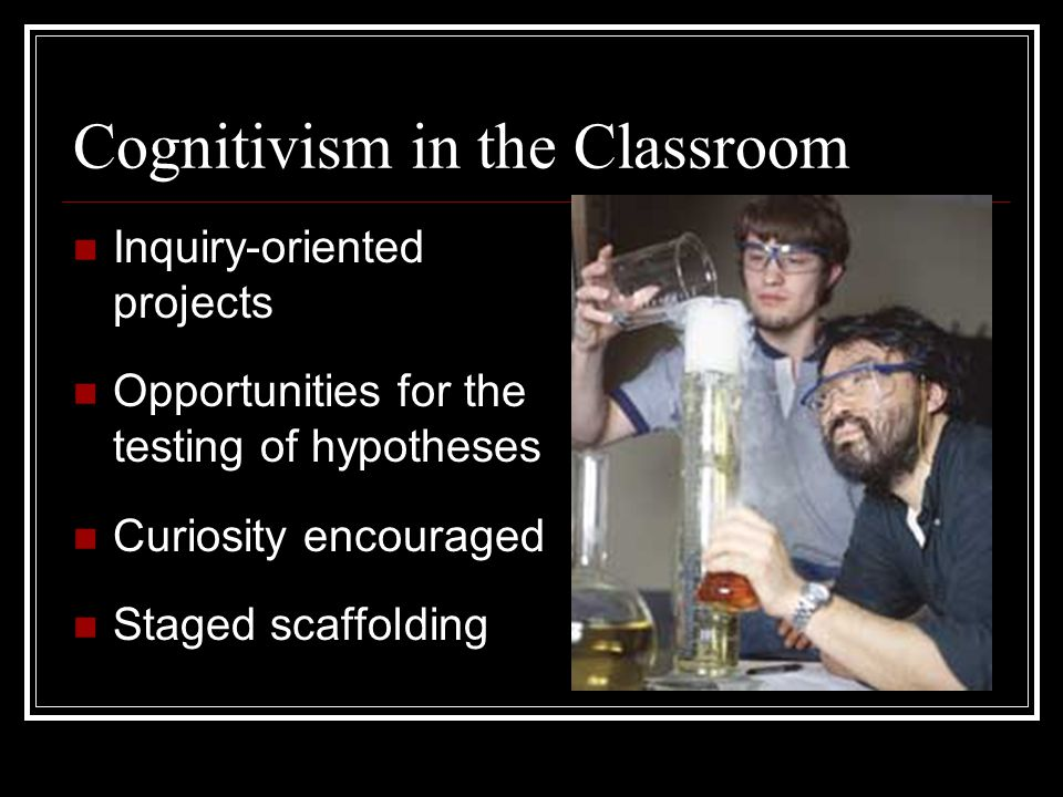 Cognitivism in the Classroom