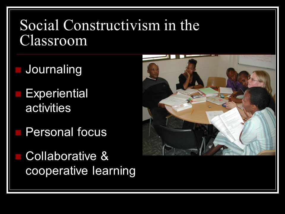 Social Constructivism in the Classroom