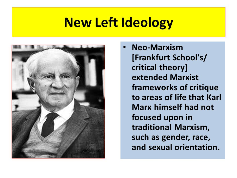 New Left Ideology