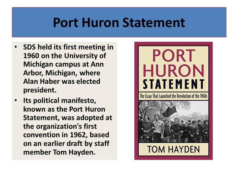 Port Huron Statement