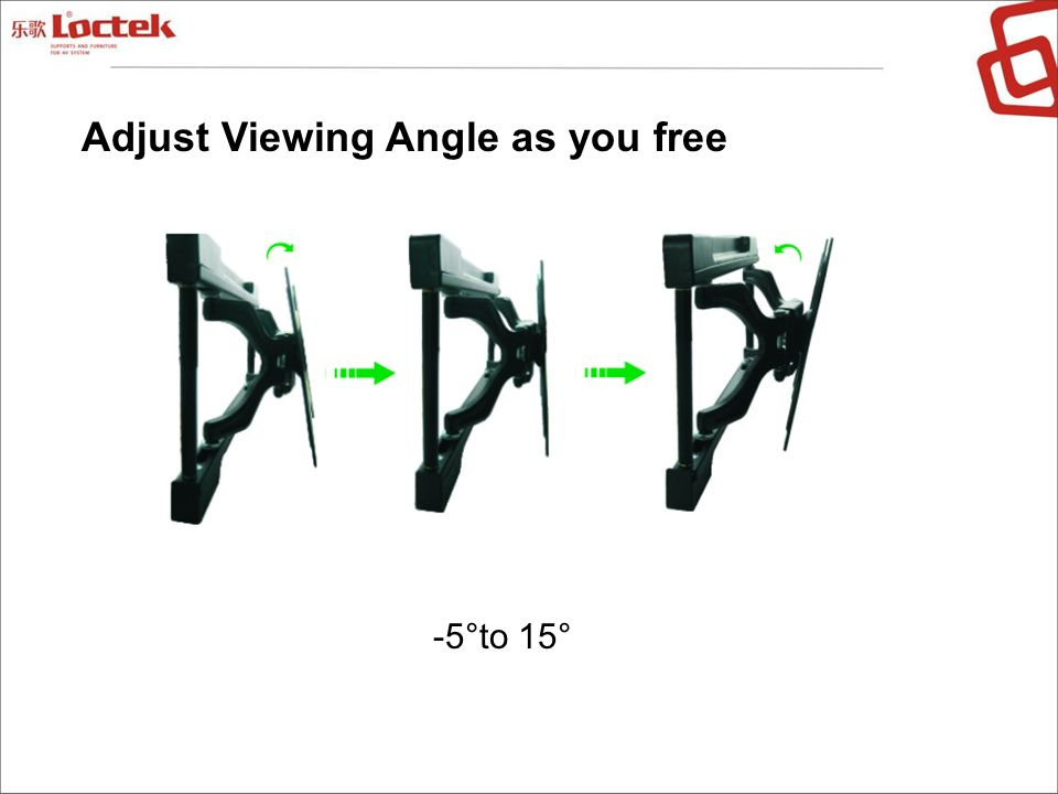 Adjust Viewing Angle as you free