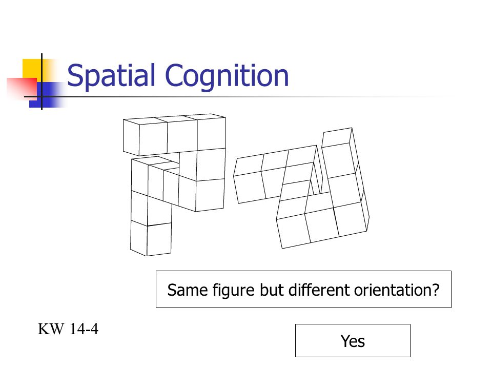 Same figure but different orientation