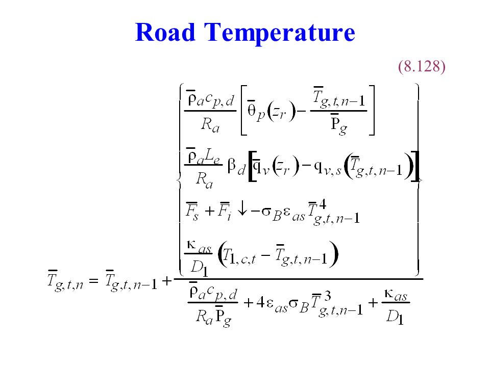 Road Temperature (8.128)