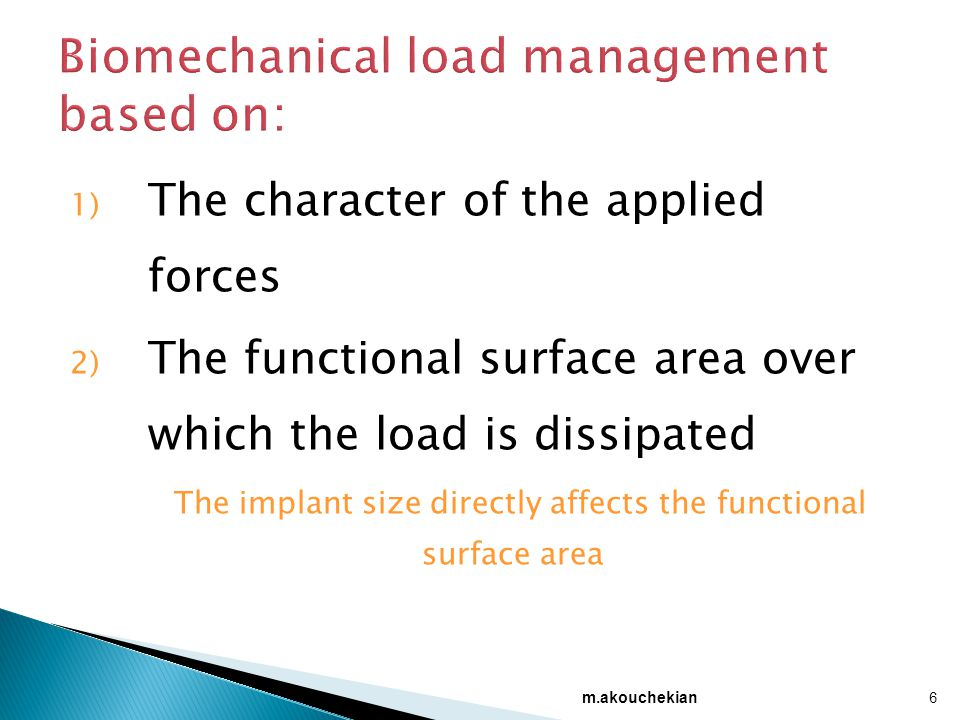 Biomechanical load management based on: