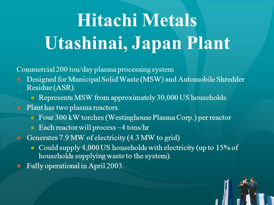 Hitachi Metals Utashinai, Japan Plant