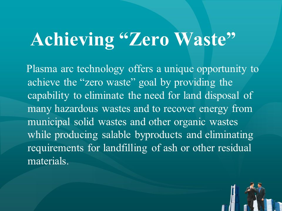 Achieving Zero Waste