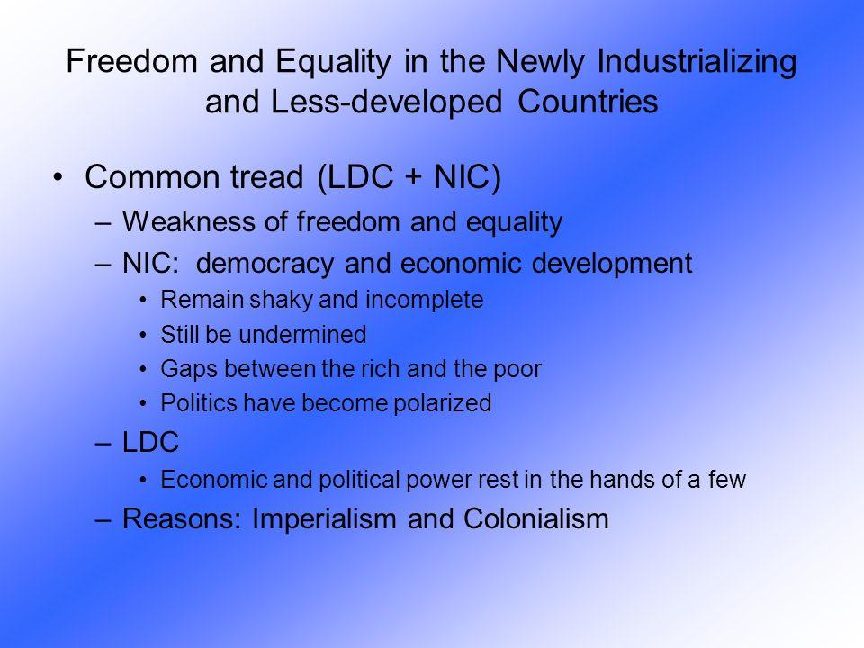 Common tread (LDC + NIC)
