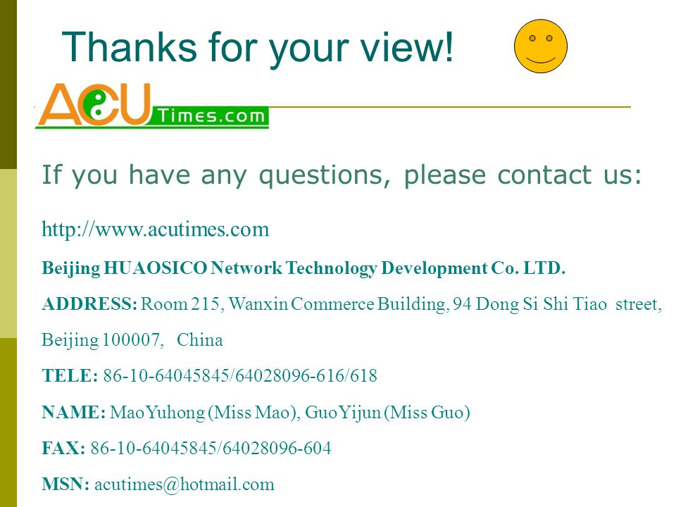 Thanks for your view! If you have any questions, please contact us: