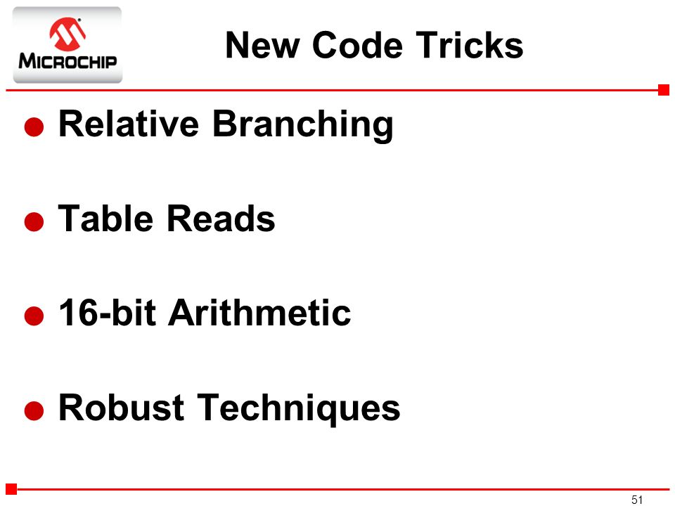 New Code Tricks Relative Branching Table Reads 16-bit Arithmetic