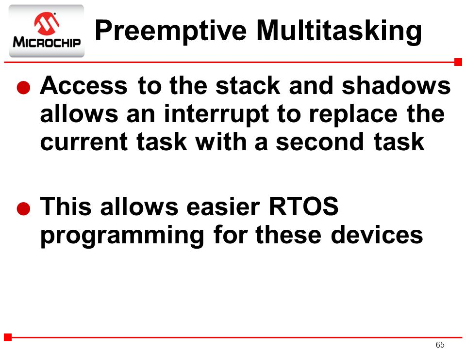 Preemptive Multitasking