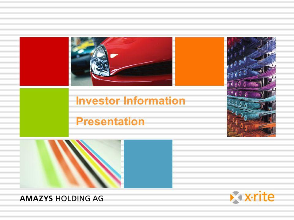 Investor Information Presentation