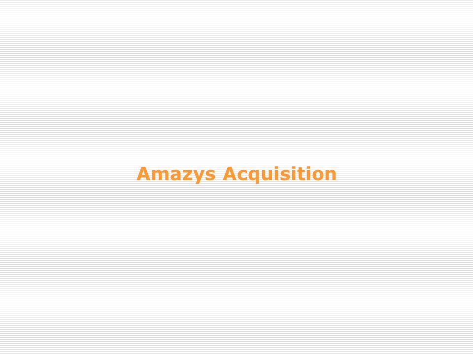 Amazys Acquisition