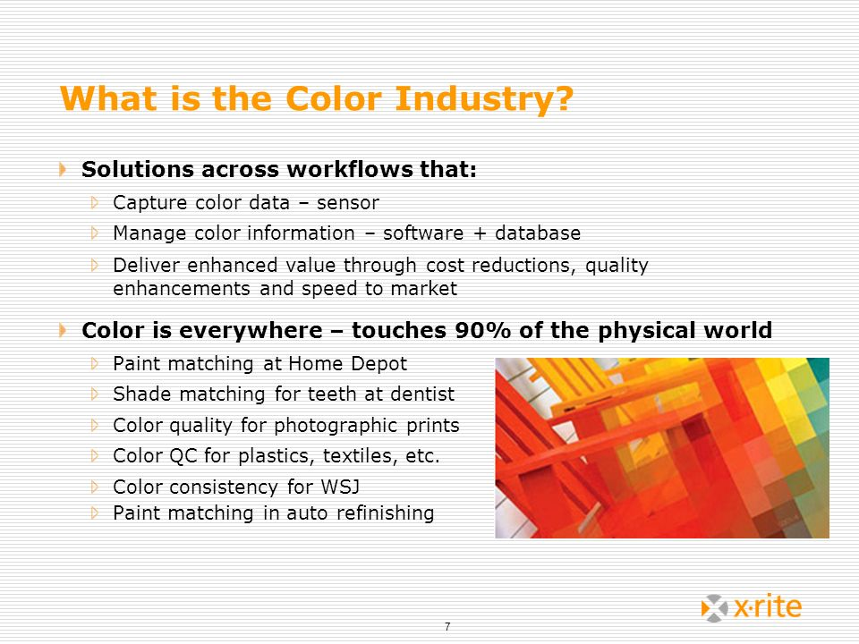 What is the Color Industry