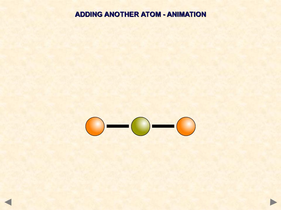 ADDING ANOTHER ATOM - ANIMATION
