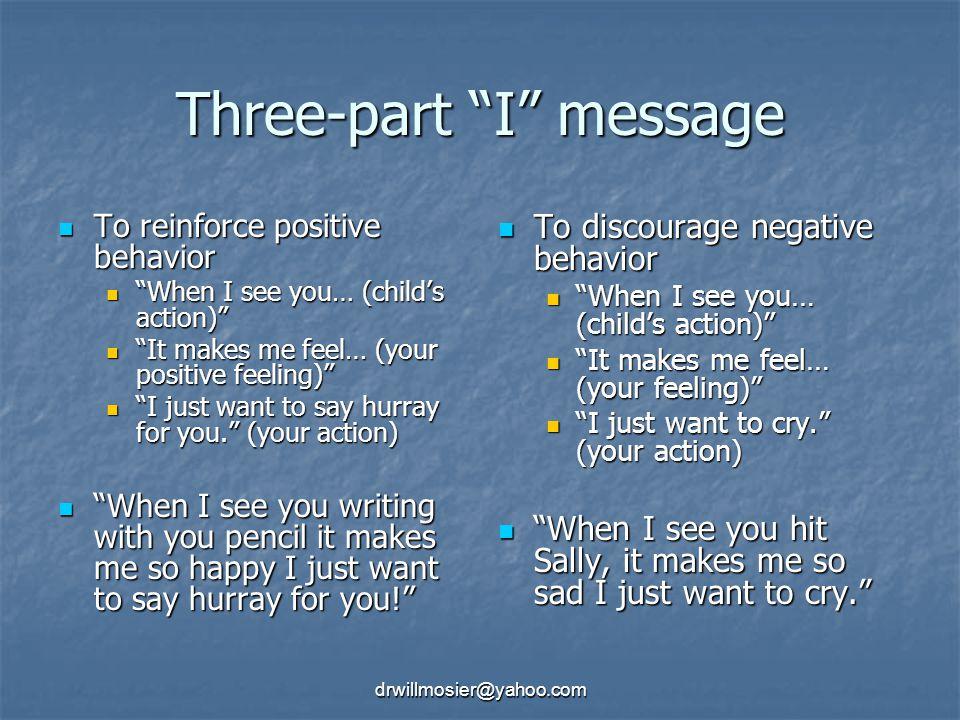Three-part I message