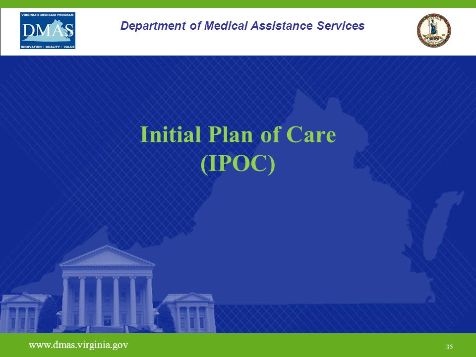 Initial Plan of Care (IPOC)