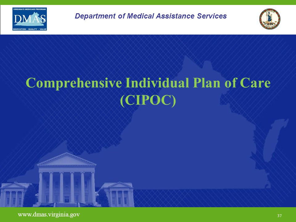 Comprehensive Individual Plan of Care (CIPOC)