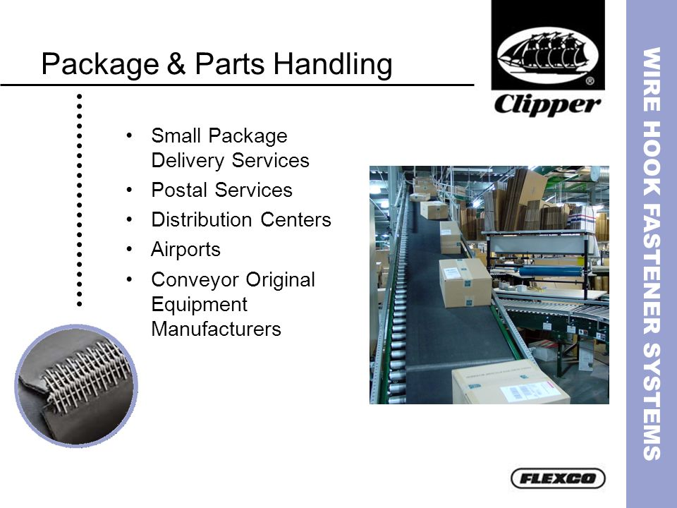 Package & Parts Handling