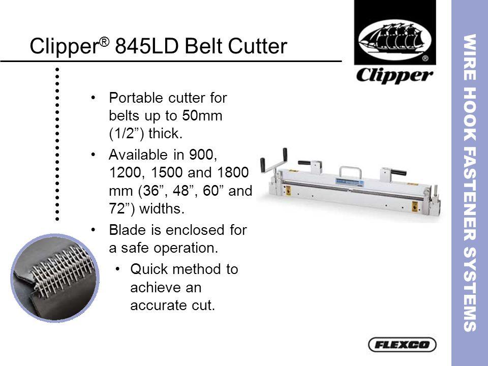 Clipper® 845LD Belt Cutter