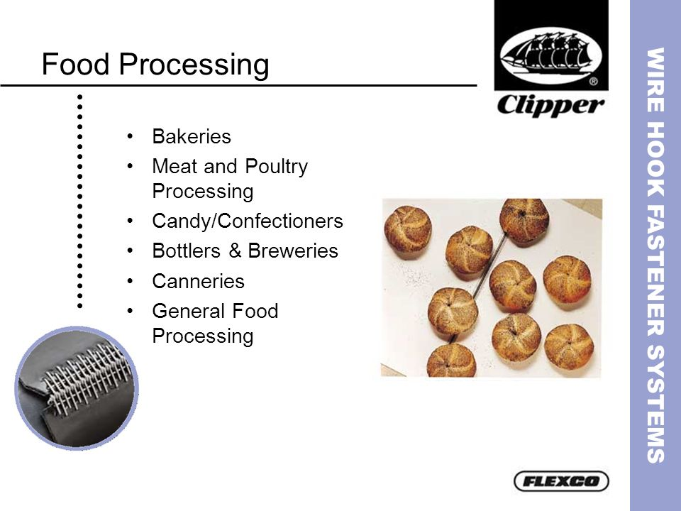 Food Processing Bakeries Meat and Poultry Processing