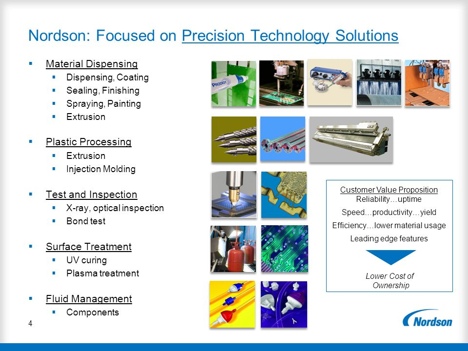 Nordson: Focused on Precision Technology Solutions