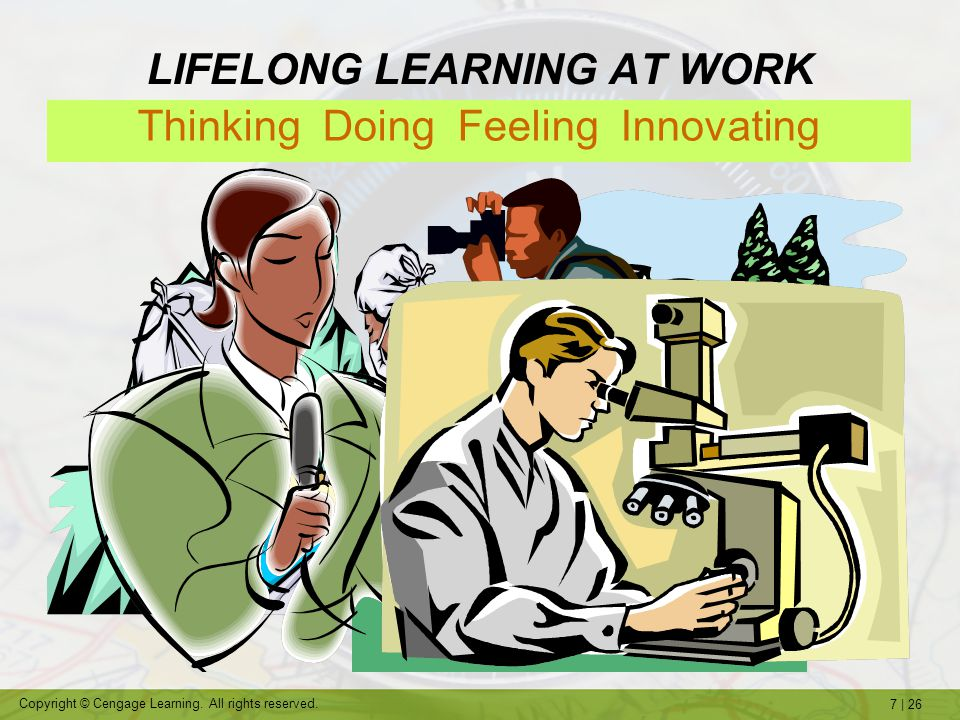 LIFELONG LEARNING AT WORK