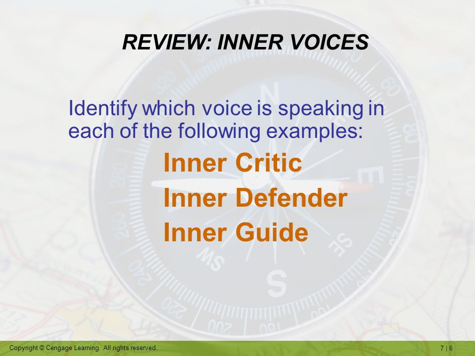 Inner Defender Inner Guide REVIEW: INNER VOICES