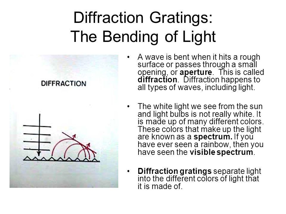 Diffraction Gratings: The Bending of Light