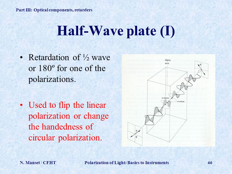 linear retardation in optic fiber