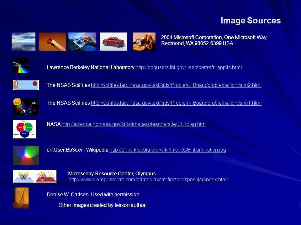 Image Sources 2004 Microsoft Corporation, One Microsoft Way, Redmond, WA 98052-6399 USA.