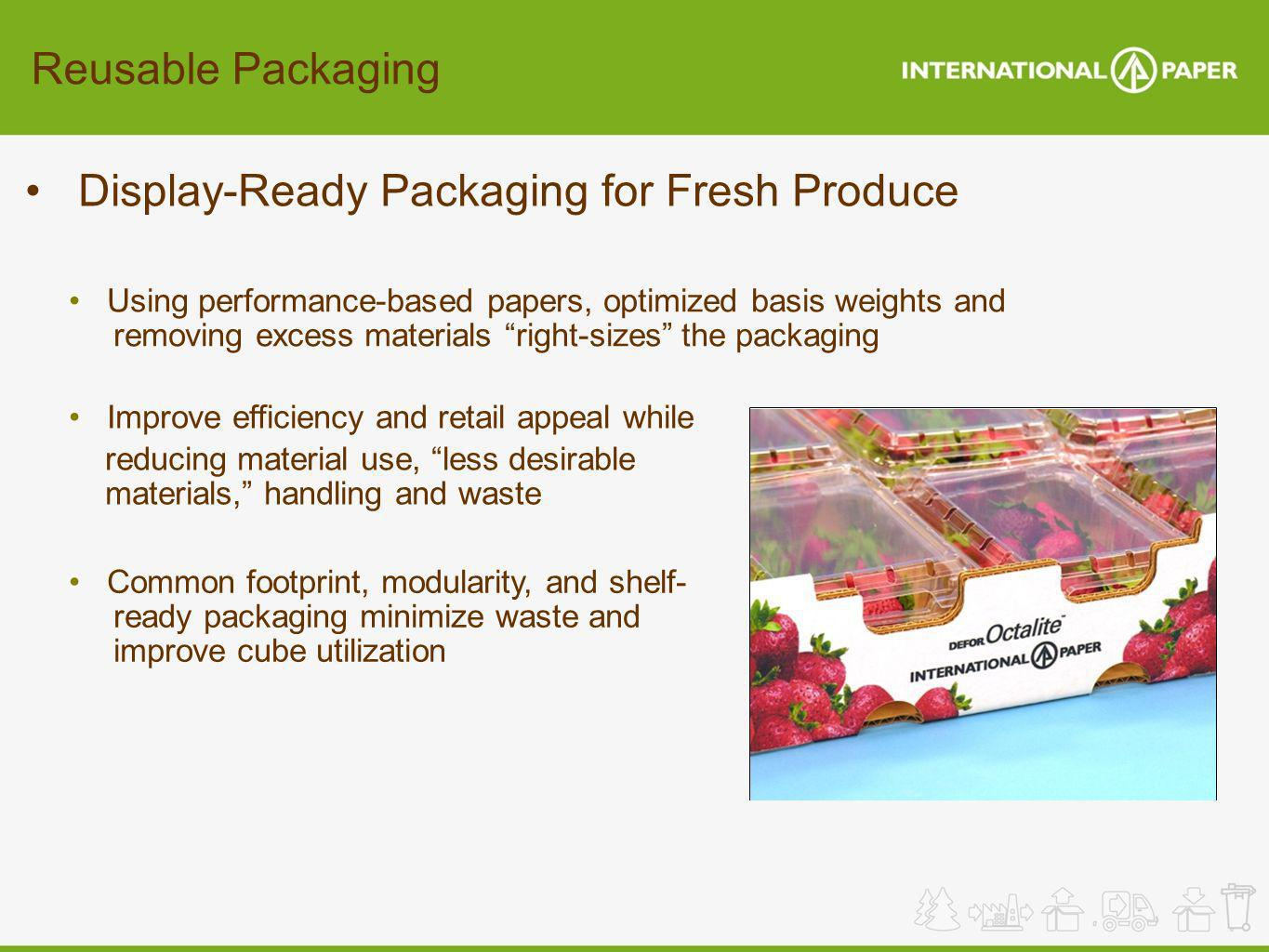 Display-Ready Packaging for Fresh Produce