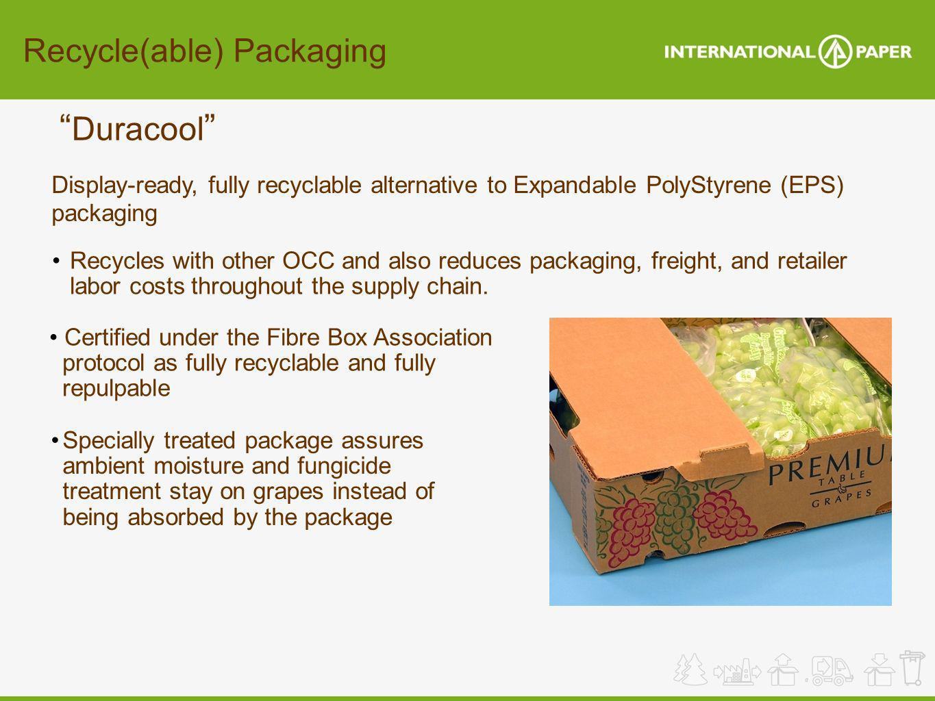 Duracool Recycle(able) Packaging