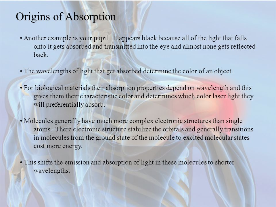 Origins of Absorption