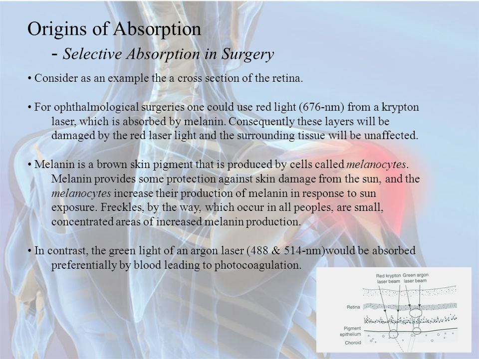 - Selective Absorption in Surgery