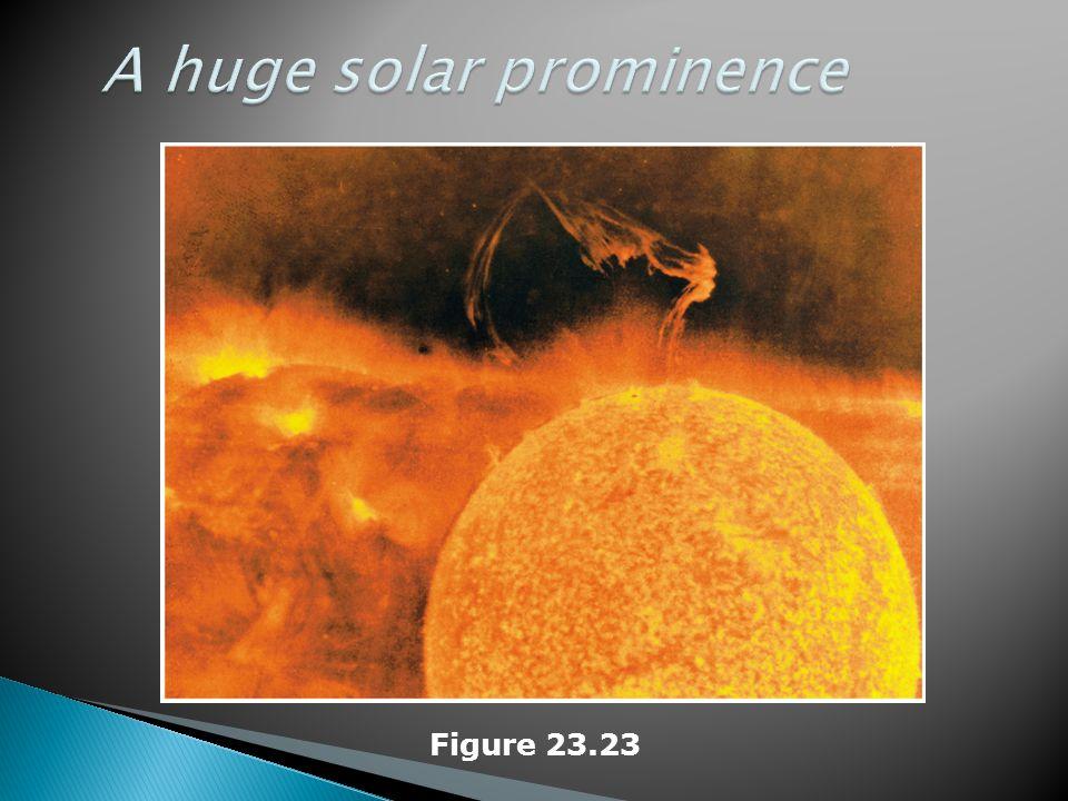 A huge solar prominence