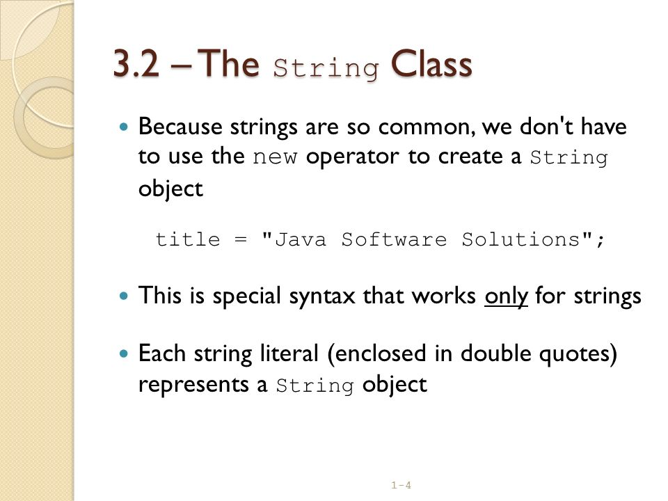 title = Java Software Solutions ;