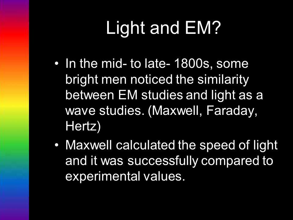 Light and EM